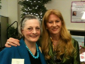Dana Ivey and Laura Pedersen
